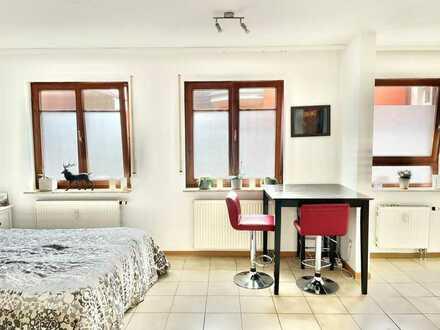 1,5-Zimmer-EG-Wohnung mit Einbauküche für Single oder Wochenendpendler