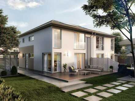 Grundstück in Oranienburger OT mit geplanter Doppelhaushälfte AURA 136 von Town & Country Haus