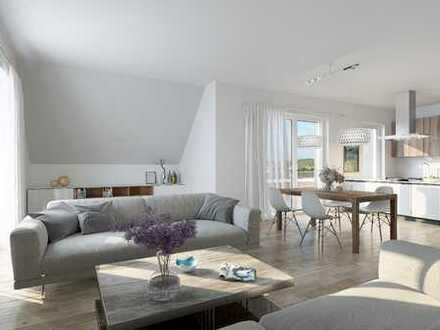 Gut geschnittene 2-Zimmer-Wohnung mit West-Loggia/ Whg. 6
