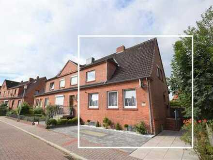 Renovierungsbedürftiges Reihenendhaus auf pflegeleichtem Grundstück in zentraler Lage von Emden (...