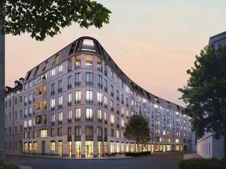 Erstbezug: 3-Zimmer-Wohnung mit Balkon im Baader-Glockenbach
