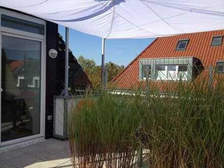 Sonnenstrahlen gratis! Dachterrassentraumwohnung in Münster