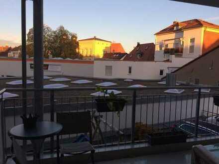 Neuwertige 3-Zimmer-Wohnung mit Balkon in der Mitte von Bamberg
