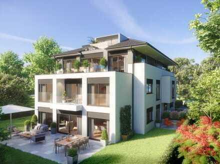 2-Zimmer-Wohnung mit Terrasse und Gartenanteil im EG