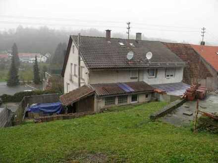 .... mit ein paar Restarbeiten zum urgemütlichen Schnäppchenhaus mit großem Garten