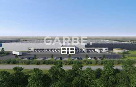 Direkt vom Eigentümer: ca. 10.500 m² Hallenfläche, 12 m UKB, 10 Rampen