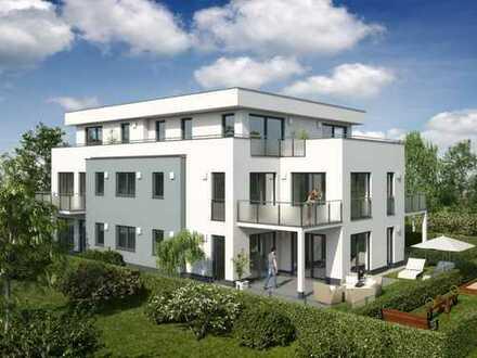 Neubau - Drei Zimmer Wohnung mit zwei Bädern und Süd-West Balkon