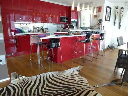 1 2 0 qm MÖBLIERTE Terrassenwohnung + hochwertiger Ausstattung in BESTER Wohnlage von THON