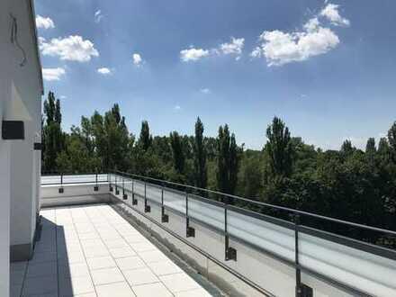 HAIDHAUSEN Tassiloplatz: Penthouse-Wohnung mit über 50 m² Dachterrasse