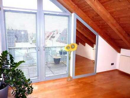 Moderne 3-Zimmer-Wohnung mit Balkon und EBK in Nürnberg (teilmöbliert)