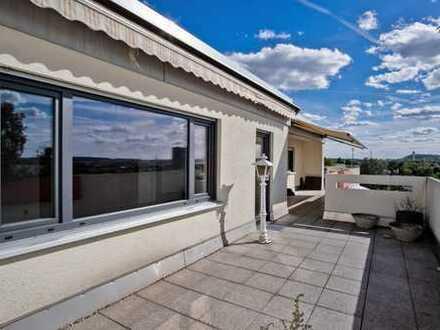 Wundervolle Aussicht - TOP-Penthouse Wohnung mit Ausblick über Bietigheim-Bissingen