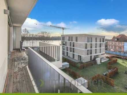ac   PENTHOUSEWOHNUNG -Neubau - Erstbezug - Wohnen am Fluss