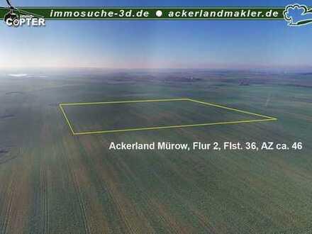 Verkauf Ackerland Mürow, Nähe Angermünde - ca. 9,1 ha
