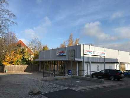 Moderne ebenerdige Handelsfläche im Stadtzentrum von Altenburg zu vermieten