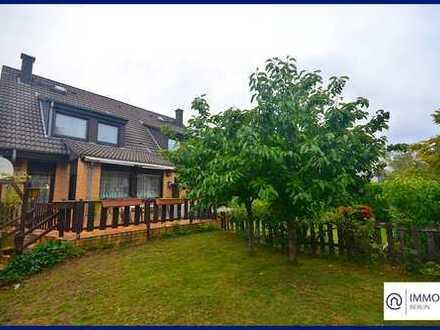 VB: Doppelhaushälfte in Lichtenrade mit Wintergarten, großem Garten & Sonnenterrasse