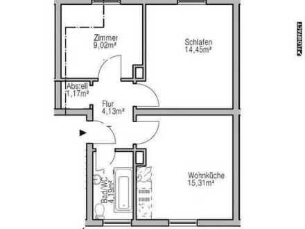 Ruhig gelegene 2-Zimmer Wohnung in Pöttmes