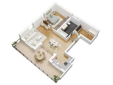Haus Urban Alps -Penthouse mit atemberaubendem Blick ****KfW 40+** - Auch als Kapitalanlage geeignet