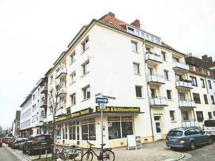 Schöne drei Zimmer Wohnung im Flüsseviertel