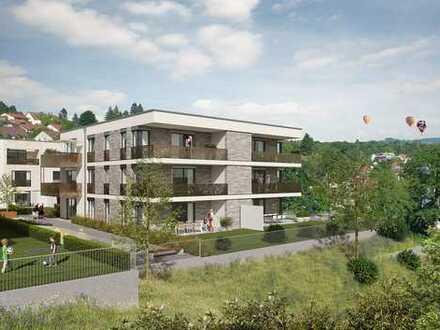 4-Zimmer-Wohnung, flexibel in der Nutzung mit Terrasse + privatem Gartenanteil