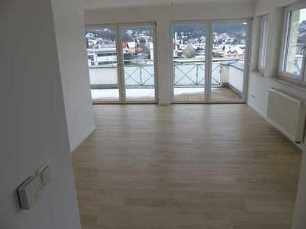 Aparte Penthousewohnung mit herrlichem Ausblick im Neubaugebiet von Bad Bocklet