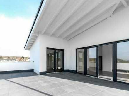 Einzigartiges Penthouse in Neubau 8-Familienhaus mit Fernblick