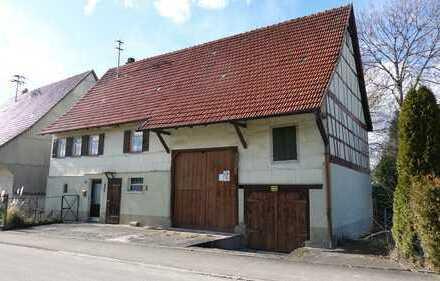 Traditionelles 3-Zimmer-Bauernhaus zum Kauf in Rosenfeld-Leidringen