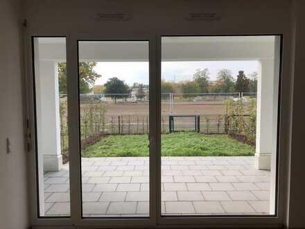 NEUBAU*** ERSTBEZUG*** einer wunderschönen 3-Zimmer-Wohnung mit eigener Terrasse und Garten