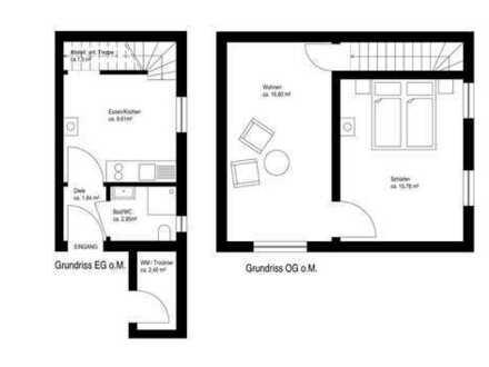 Sanierte 2,5-Zimmer-Wohnung mit Einbauküche in Zeil am Main