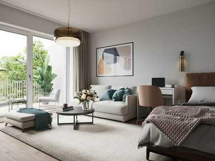 Besondere 1-Zimmer-Wohnung mit Sonnenbalkon!