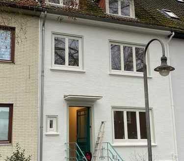 Saniertes Haus mit Garten in Bremen, Gete