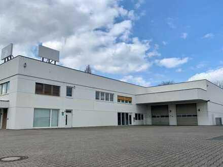 Büro- und Hallenfläche in verkehrsgünstiger und werbewirksamer Lage von Bonn zu vermieten