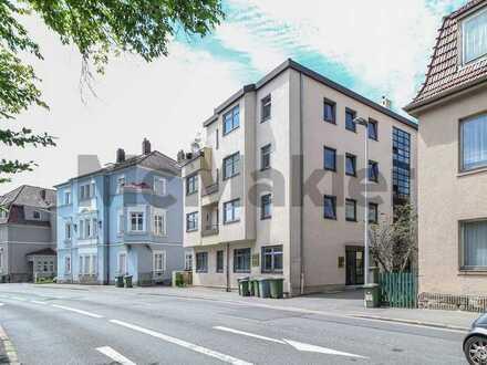 Zentral und gut geschnitten: 2-Zi.-Wohnung mit EBK und TG-Stellplatz in Coburg