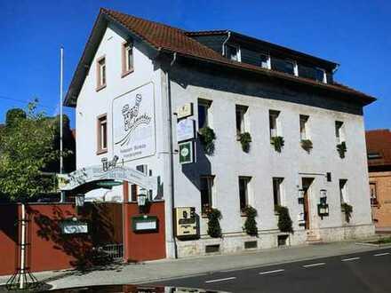 Restaurant mit kleinem Hotel in Dieburg