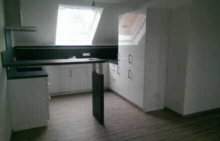 Erstbezug mit Einbauküche: attraktive 2-Zimmer-Dachgeschosswohnung in Emerkingen