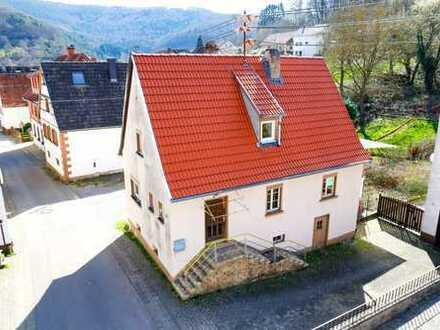 Frei stehendes Haus in ruhigem Erholungsort - zum Preis einer Wohnung!