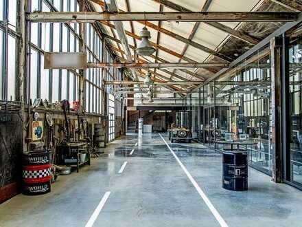 Werkstatt- und Verkaufsfläche in der Motorworld Manufaktur Metzingen