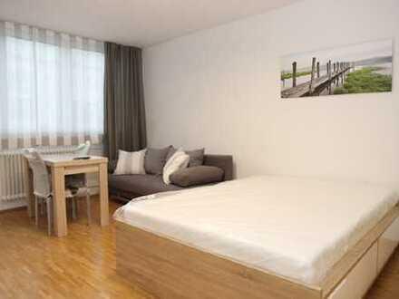 Komplett möbliertes Appartement an der Schwanthaler Höhe/Westend