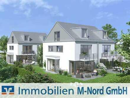 Baubeginn erfolgt! Neubau von 4 familienfreundlichen DHH in grüner Lage von München- Feldmoching