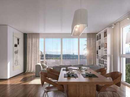 RESERVIERT Penthouse-Wohnung mit Blick über die Dächer der Stadt