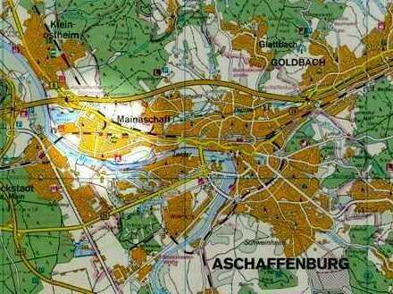 4 Zimmer auf 112 qm Maisonette-Wohnung mit Südbalkon in Aschaffenburg-Mainaschaff