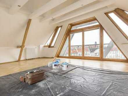 ÜBER DEN DÄCHERN VON HALENSEE - großzügige, bezugsfreie 3-Zi-Dachgeschosswohnung PROVISIONSFREI