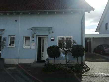Freundliche und gepflegte 4-Zimmer-Doppelhaushälfte in 76879 Hochstadt