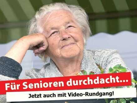 Moderne Seniorenwohnung mit Serviceangebot. Jetzt mit Video-Rundgang!