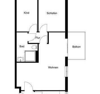 Jobcenter geeignete Wohnungsmiete inkl. Klimabonus B, Wohnberechtigungsschein erforderlich