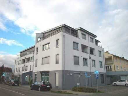 Neu! Moderne 4 ZKB-Wohnung in Egg.-Leopoldshafen mit EBK, Loggia, Aufzug, TG-Platz, Parkett...