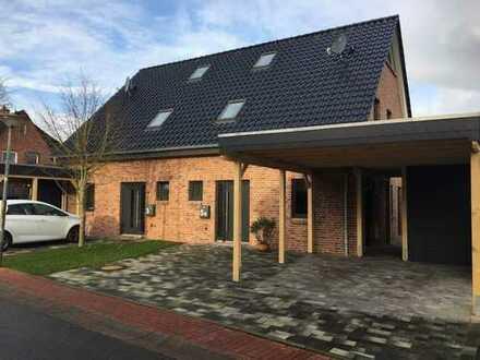 Neubau 2019: Energieeffiziente KfW-55 Doppelhaushälfte in ruhiger Lage
