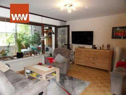 Citylage - barrierefreie Eigentumswohnung 2,5 Zimmer m. EBK, Wintergarten, Stellplatz u. Aufzug