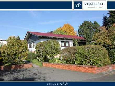 VON POLL - BAD HOMBURG: Einfamilienhaus in ruhiger Wohnlage, seniorengerecht und voll unterkellert