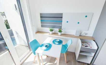 Bild_Stilvolle 1-Zimmer-Wohnung mit Balkon und Einbauküche in Berlin - Treptow für Student/in