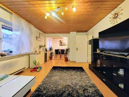 Pfiffige 4,5 Zimmer WHG mit Sonnenbalkon!!